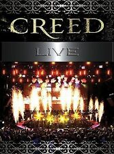 NEW Creed: Live (DVD)