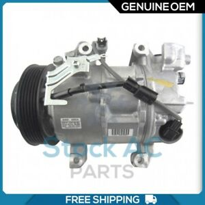New OEM A/C Compressor for Nissan Xtrail T32 2.5L - 2015 / Rogue - 2014 to 2017