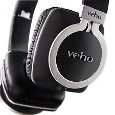 Veho 360 Z8 DESIGNER Aluminium Noise Isolating On-ear Headphones - Black