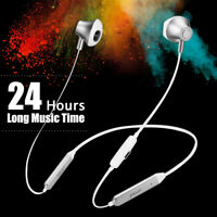 🔥 Wireless bluetooth Headphones Neckband Magnetic Sport Headset Stereo Earphone