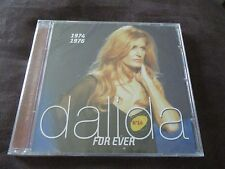 "CD NEUF ""DALIDA FOR EVER N°14, 1974-1976"" best of 16 titres"