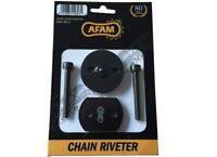 AFAM Motorcyle Chain Riveter 520 525 530 Triumph 865 Bonneville 07-14