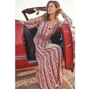 Soft Surroundings NWOT $130 SIZE MEDIUM esperanza maxi dress