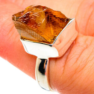 Citrine 925 Sterling Silver Ring Size 6.25 Ana Co Jewelry R76897