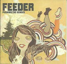 FEEDER - PUSHING THE SENSES CD ALBUM + DVD / LIMITED EDITION