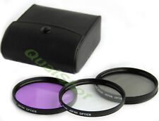 67mm UV CPL FLD FILTER Lens SET KIT for Sony Cyber-shot DSC-R1