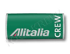 Alitalia Handle Wraps CREW LUGGAGE TAGS X 2