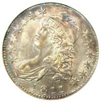 1811 Capped Bust Half Dollar 50C O-104a - Certified ANACS AU58 - $1,750 Value!