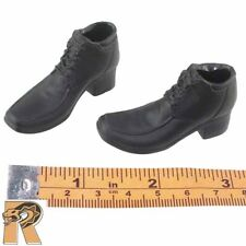 Mr Vin - Black Shoes (open for feet) - 1/6 Scale - Ace Toys Action Figures