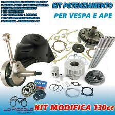 Set Fortalecimiento de la Motor Grupo 130 Dr Aluminio Cigüeñal Vespa Special 50