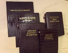 NEW WORLD TRANSLATION BIBLE   COVER SET BLACK or BROWN GATOR, Jehovah's Witness