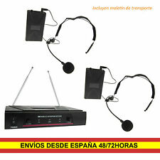 Qtx 171.818uk Vn2 microfono Inalambrico diadema VHF
