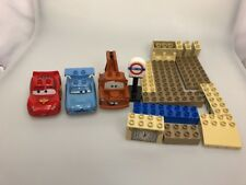 Disney Cars Lego Dueplo Big Bentley Parts 5828 incomplete McMissile Mater