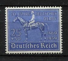 German Reich WW II : German Derby stamp from 1939 - mint