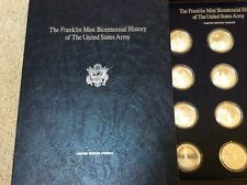 Franklin mint silver bicentennial history of the United States Army