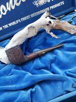NEVER SMOKED Antique TANGANYIKA Tanzania AFRICA BLOCK Meerschaum Pipe KIKO RARE