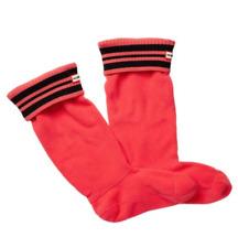 Hunter Womens Bright Watermelon Sport Rib Boot Sock Sz M 0058