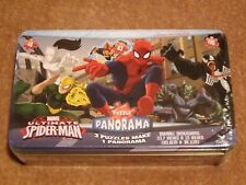 Marvel Ultimate Spider-Man Panorama 3 Puzzles Make 1 Panorama New