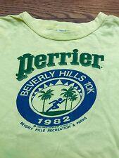 Vintage 80's Perrier/ Beverly Hills 10k Promo T-shirt - Large