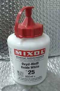 Mixol Universal Oxide White #25 500mL