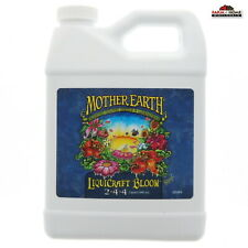 Mother Earth Blooming Fruit Feed Plants Gardening 1qt ~ New ~ Ships Fast