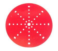 """Meccano Part 146 Circular Plate 6"""" Diameter Red"""