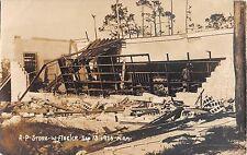 1926 RPPC Ruins A&P Store W. Flager Miami FL Sep. 18 Hurricane?  Damage