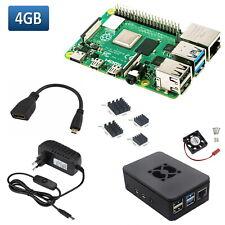 Raspberry Pi 4 (4GB) + Netzteil + Gehäuse + HDMI Adapter im Set