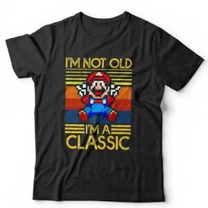 I'm Not Old I'm A Classic Tshirt Unisex - Retro, Gaming, Vintage, Birthday Gift