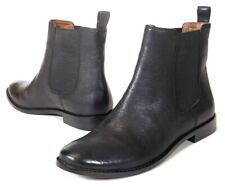 NEW Frye Anna Chelsea Black Leather Ankle Boot Pull On Women's Size 6 $328
