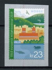 Norway 2019 MNH Oslo European Green Capital 1v S/A Set Tourism Birds Stamps