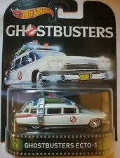 Hot Wheels Retro Entertainment GHOSTBUSTERS ECTO-1 Real Riders mip