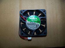 Nidec Beta V Slimline TA225DC 60mm X 15mm Ball Bearing 12V Fan H34587-55 (10) ea