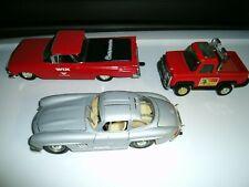 Diecast Cars Lot-Strombecker Truck-Mercedes Gull wing Sl 300-1959 Gm El Camino