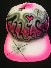 The Urbanist Personalised Custom Air Brushed Graffiti Art Snap back Baseball Cap