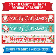 Christmas 1-5 m Party Banners