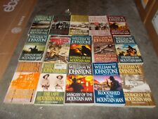 WILLIAM JOHNSTONE~VINTAGE MOUNTAIN MAN SERIES~45 BOOK COLLECTION~SMOKE JENSEN