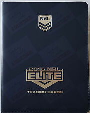 2016 ESP TLA NRL elite complete set (192 cards) + folder + bonus album card