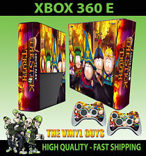 XBOX 360 E SOUTH PARK STICK OF TRUTH CARTMAN STICKER SKIN & 2 PAD SKIN