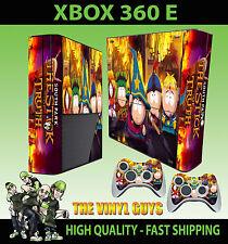 Xbox 360 E De South Park Stick Of Truth Cartman Etiqueta Skin & 2 Pad Skin