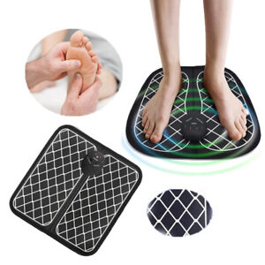 EMS Foot Massager Mat Pad Leg Reshaping Blood Muscle Circulation Pain Relief UK