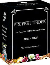 SIX FEET UNDER COMPLETE SERIES 1-5 (2001-2006) DVD BOXSET R4 NEW & SEALED