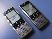 2x Konvolut Nokia 6300 2MP - Silber (ohne Simlock) Handy