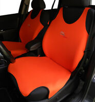 ORANGE CAR SEAT COVERS FOR BMW