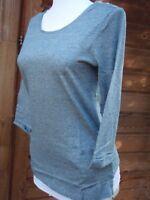 New X Seasalt blue organic cotton Rig Gallery Sambucus T shirt RRP was £29.95