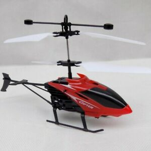 Mini USB Remote Control Helicopter Induction Aircraft RC Drone with Light UK