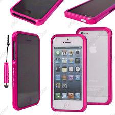 Housse Coque Etui Bumper BLADE Rose Apple iPhone SE 5S 5 + Mini Stylet