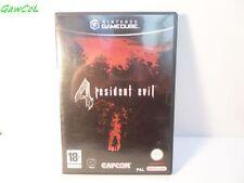 resident evil 4 FR nintendo gamecube game version FR