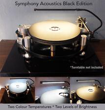 BLACK Turntable Record Player LED Lamp Light fits Rega Funk Thorens Clearaudio