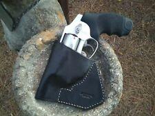 Pocket Holster for Smith & Wesson J-Frame Revolver, All Leather, Black